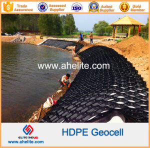 Smooth Textured Surface Plastic HDPE Geoweb Geocells pictures & photos