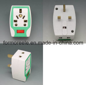 UK Us EU to BS World Travel Adapter pictures & photos