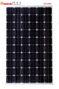 Mono Crystalline Solar Module (DSP250M-60) pictures & photos