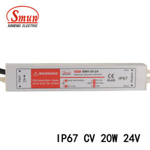 Smun Smv-20-24 20W 24VDC 0.8A IP67 Waterproof Switching Power Supply pictures & photos