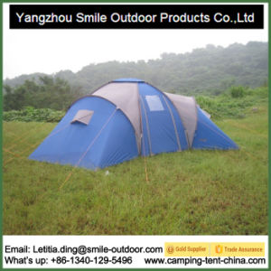 Manufacturer Price 3 Room Large Space Camping Family Tent pictures & photos