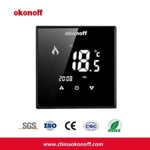 Touch Screen Thermostat for Floor Heating with Modbus (Q8. V-S-PE) pictures & photos