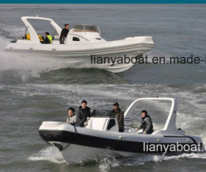 Liya 27FT Military Rib Boats Military Inflatable Boats for Sale pictures & photos