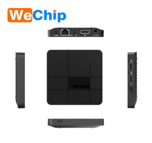 New Arrival Amlogic S905W Wechip V8 Android 7.1 2.4G WiFi 4K 2+16g Smart TV Box pictures & photos