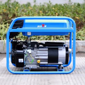 Bison (China) BS2500e Round Frame Single Phase Portable Gasoline Generator pictures & photos