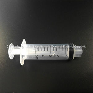 Disposable Sterile 5ml Luer Lock Syringe with Needle pictures & photos