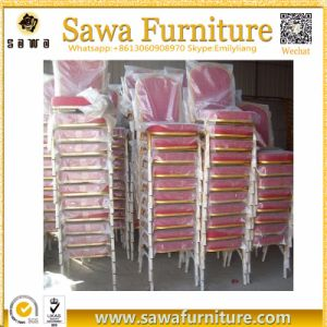Wholesale Metal Wedding Stacking Hotel Banquet Chair pictures & photos