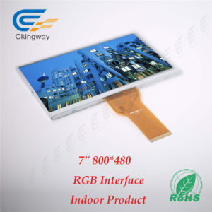 """7"""" 50 Pin 800*480 Hx8264+Hx8664 Industrial TFT Monitor pictures & photos"""