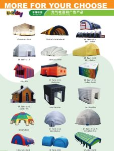 Globe inflatable igloo tent canopy for event pictures & photos