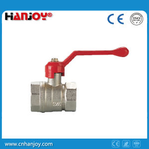 Brass Ball Valve with Steel Long Handle (NV-2011 F*F) pictures & photos