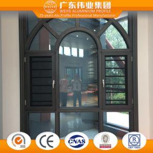 Weiye Aluminum/Aluminium/Aluminio Thermal Broken Casement Window with Flyscreen pictures & photos