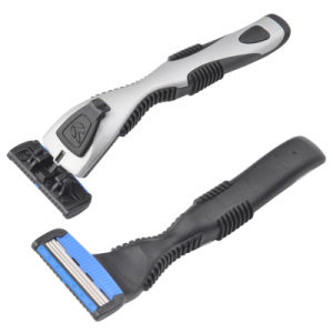 Good Quality System Razor with Cartridge Online Shaving Set pictures & photos