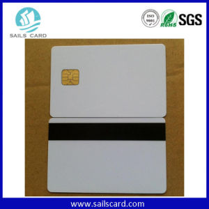 Sle4428/ Sle5528 Printable Blank PVC Contact IC Card pictures & photos