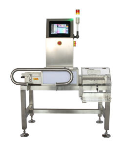 Touch Screen Conveyor Weight Checker pictures & photos
