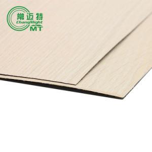Wood Grain Laminate Kitchen Cabinets/HPL Furniture/Postform pictures & photos
