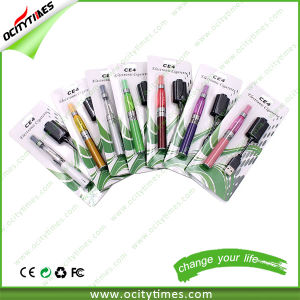 Wholesale Electronic Cigarette EGO Ce4 Vaporizer Pen with Logo Printing pictures & photos
