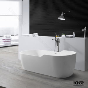 Acrylic Solid Surface Corian Freestanding Bathtub pictures & photos