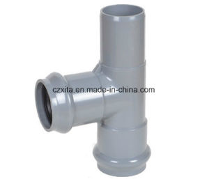 PVC Faucet Tee (F/F/M) with Rubber Ring pictures & photos