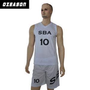 2017 Custom New Design Sublimated Basketball Uniform pictures & photos
