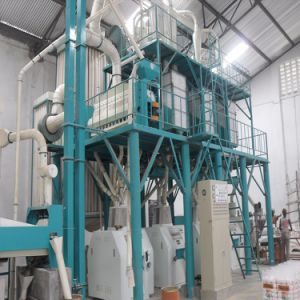 Mozambique Automatic Maize Meal Milling Machine for Maize Meal pictures & photos