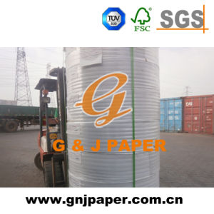 Wood Pulp 241mmx12000m CB CFB CF Non-Carbon Paper for Wholesale pictures & photos