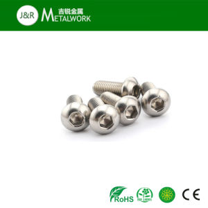 Stainless Steel Hex Socket Button Head Bolt (ISO7380) pictures & photos