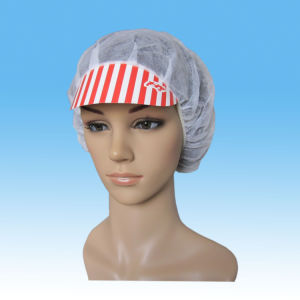 Nonwoven Doctor Cap with Ties, SMS Doctor Cap Machine Made pictures & photos