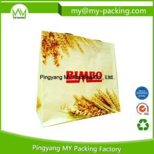 Custom Logo Advertisement Lamination PP Woven Bag for Shopping pictures & photos