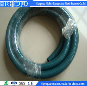 Non-Toxic PVC Garden Hose Fiber Reinforced PVC Braided Hose pictures & photos