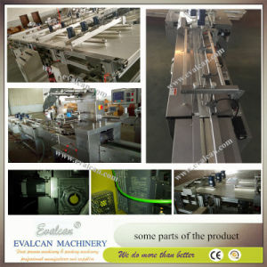 Semi-Automatic Disposable Plastic Cutlery Horizontal Packing Machine pictures & photos