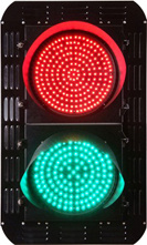 LED Traffic Signal Light (JD200-3-ZGSM-2) pictures & photos
