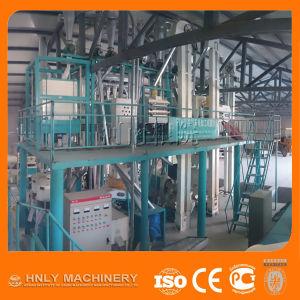 Capacity 50t/D Maize Milling Machine for African Market pictures & photos