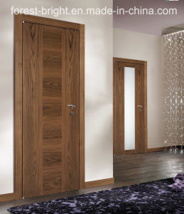 China Cheap Single Veneered Interior Curved Flush Interior Door pictures & photos