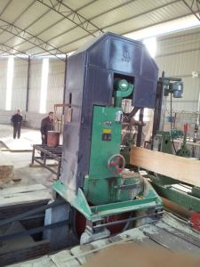 High Precision Electric Vertical Wood Band Saw Machine for Large Log pictures & photos