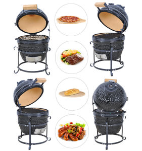 2016 Wholesale Newest Egg 13′′ Ceramic Kamado BBQ Charcoal Grill