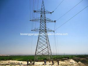 220kv Double Circuit Transmission Line Lattice Tower