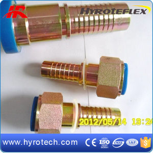 Hydraulic Straight Swaged Hose Fitting pictures & photos