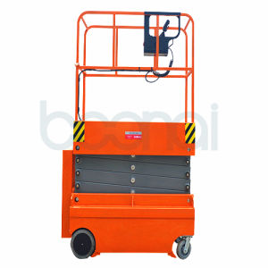 3.8m Electric Man Scissor Lift for Maintenance at Height pictures & photos