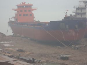 Ship Launching Airbag