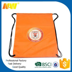 Cheap Polyester Promotional Drawstring Backpack Bag pictures & photos