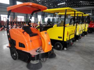 Electric Road Sweeper with Cabin pictures & photos