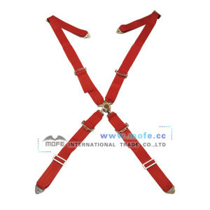 Bride 4 Point Racing Seat Belt Red (MSB-7)