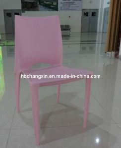 Classical High Quality Stackable White Plastic Chair pictures & photos