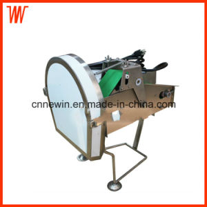 Electric Small Scallion Parsley Celery Cutting Machine for Restaurant Use pictures & photos