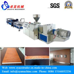 WPC Hollow Decoration Wall Panel Making Machine pictures & photos