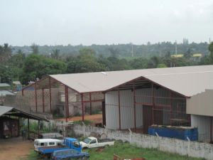 Two Span Steel Structure Warehouse Building pictures & photos