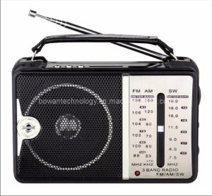 FM/AM/SW 3 Band Radio Receiver MP3 Player BW-2220U