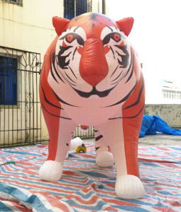 Hot Selling Vivid Inflatable Tiger for Advertising pictures & photos