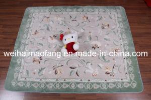 Luxury Shaggy Raschel Mink Polyester Prayer Carpet pictures & photos
