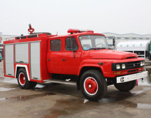Fire Engine, Water And Foam